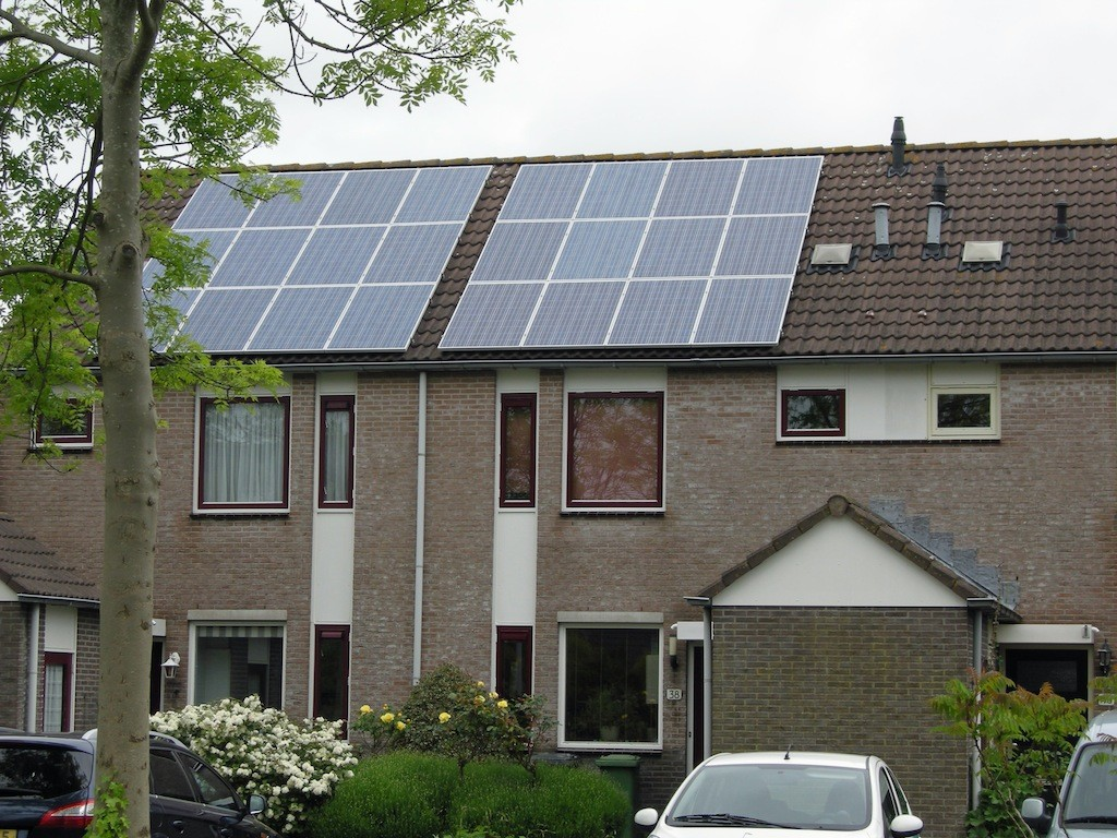 Zonnepanelen in Heiloo