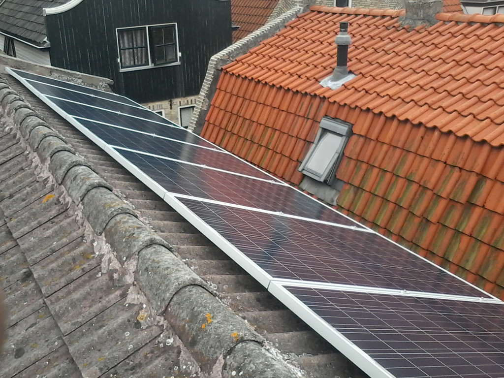 Zonnepanelen Terschelling West