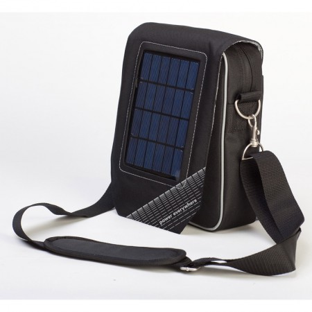 A-Solar City Bag Go Pro!(2,7W zon, 7000 mAh batterij)