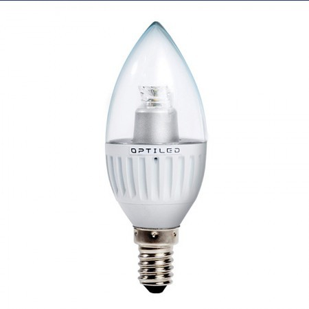 LED K20 W: Optiled Candle-150 E14  lamp, 3.6W, kaars