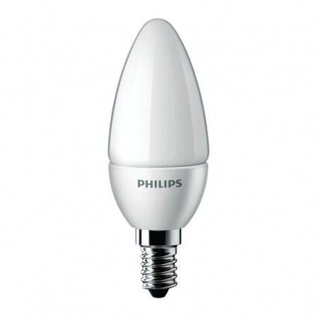 Philips LED Novallure kaars 15W vervanger warmwit kleine fitting
